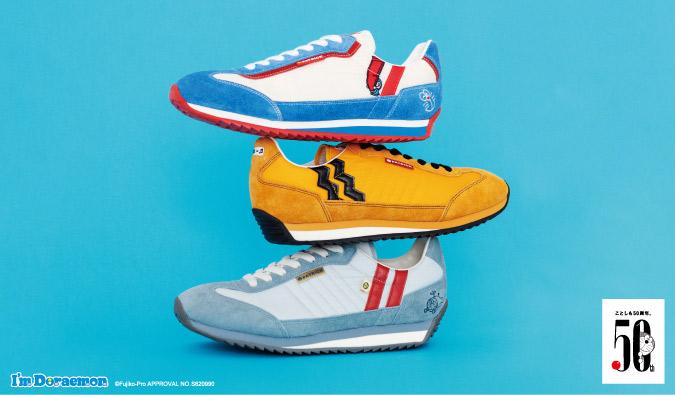 《哆啦A梦》新款联动运动鞋发售 三种款式各具特色
